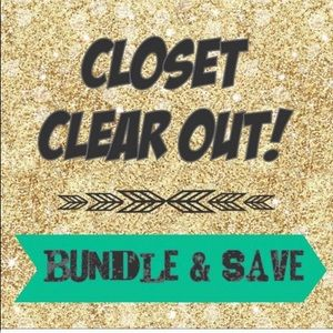 Other - BEFORE MOVE CLOSET CLEAROUT!! 2 days ONLY